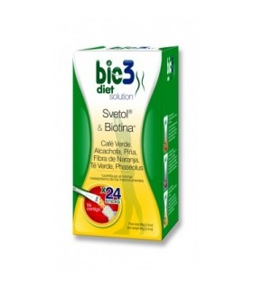 BIE 3 DIET SOLUTION 24 STICKS Quemagrasas y Adelgazamiento