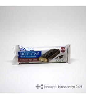 BIMANAN BARRITA CHOCOLATE NEGRO Y BLANCO 40 G 1 BARRITA Dieta y Adelgazamiento