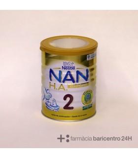 NESTLE NAN 2 H.A (EXCEL) 800 GR Leches infantiles y Alimentacion del bebe