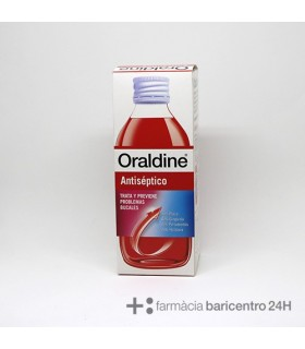 ORALDINE COLUTORIO 400 ML Colutorios y Higiene Bucal