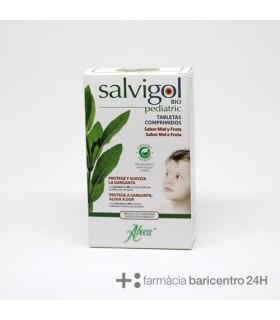 ABOCA SALVIGOL PEDIATRICO 30 TABLETAS Cuidado respiratorio y Terapias naturales