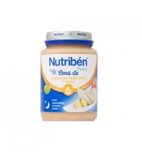 NUTRIBEN POTITO CENA CREMA VERDURA CON PAVO JUNI Potitos y Alimentacion del bebe