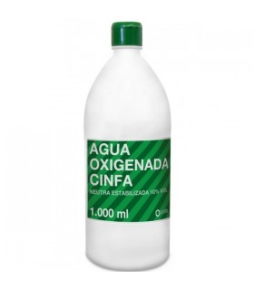 AGUA OXIGENADA CINFA 1000 ML Heridas y Botiquin