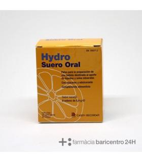 HYDRO SUERO ORAL 8 SOBRES 5.4 G Minerales y Complen Alimentarios y vitamin