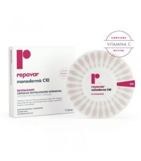 REPAVAR MONODERMA C10 REVIT 28 CAP Antioxidantes y Nutricosmetica
