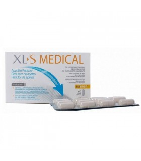 XLS MEDICAL REDUCTOR DE APETITO 60 COMP Dieta y Adelgazamiento