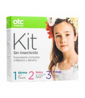 OTC KIT 1 2 3 SIN INSECTICIDA ANTIPIOJOS Antipiojos y Higiene Capilar