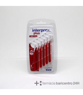 INTERPROX PLUS MINI CONICO 1,0 6 UNIDADES Cepillos y Higiene Bucal