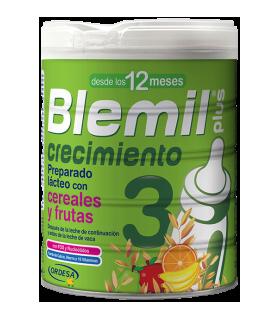 BLEMIL PLUS 3 CON CEREALES Y FRUTA 800 G Leches infantiles y Alimentacion del bebe