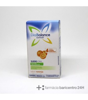 DIABALANCE EXPERT SUERO ORAL 4 SOBRES NARANJA Minerales y Complen Alimentarios y vitamin