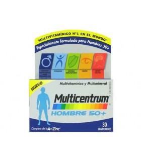 MULTICENTRUM HOMBRE 50+ 30 COMPRIMIDOS Multivitaminicos y Complen Alimentarios y vitamin