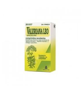 VALERIANA LEO ANGELINI 20 COMPRIMIDOS Relajante y Terapias naturales