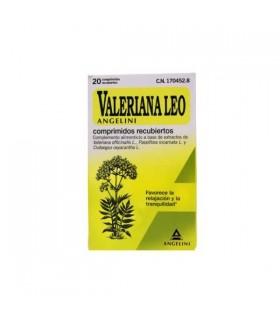 VALERIANA LEO ANGELINI 60 COMP RECUBIERTOS Relajante y Terapias naturales