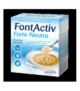 FONTACTIV FORTE 30 G 10 SOBRES NEUTRO Vitalidad y Complen Alimentarios y vitamin