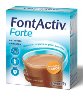 FONTACTIV FORTE 30 G 14 SOBRES CHOCOLATE Vitalidad y Complen Alimentarios y vitamin