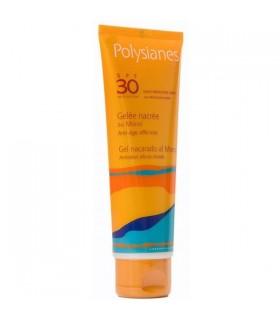 POLYSIANES SPF 30 GEL NACARADO AL MONOI 125ML Proteccion solar corporal y Proteccion Solar