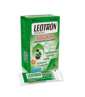 LEOTRON EXAMENES 20 SOBRES BUCODISPERSABLES Memoria y estudio y Complen Alimentarios y vitamin