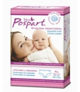 FEBUS BRAGUITAS POST-PARTO DESECHABLES Higiene intima y Embarazo y post parto