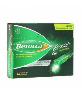 BEROCCA BOOST GO GRANULADO 14 SOBRES Vitalidad y Complen Alimentarios y vitamin