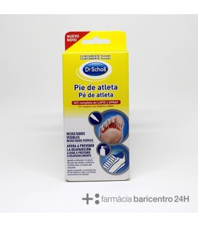 DR SCHOLL PIE DE ATLETA KIT COMPLETO LAPIZ SPRAY Tratamiento y Higiene de Pies