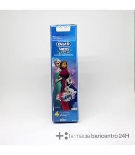 ORAL-B RECAMBIO CEPILLO ELECTRICO INFANTIL FROZEN 4 UND Cepillos y Higiene Bucal