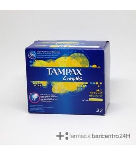 TAMPAX COMPAK REGULAR 20 UNIDADES Menstruaciones y Higiene Intima