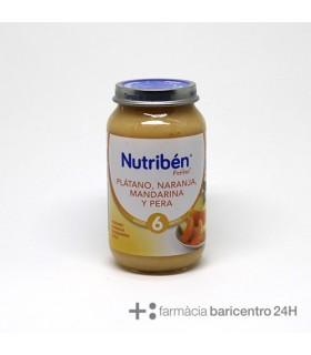 NUTRIBEN POTITO PLATANO NARANJA MANDARINA PERA Potitos y Alimentacion del bebe