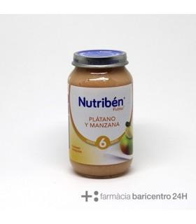 NUTRIBEN POTITO PLATANO MANZANA 250 G Potitos y Alimentacion del bebe