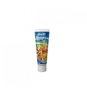 ORAL-B PASTA STAGES INFANT SUAV DE 2 A 4 AÑ 75ML Pastas dentifricas y Higiene Bucal