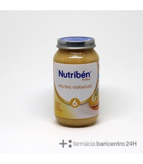 NUTRIBEN POTITO FRUTAS VARIADAS 250G Potitos y Alimentacion del bebe