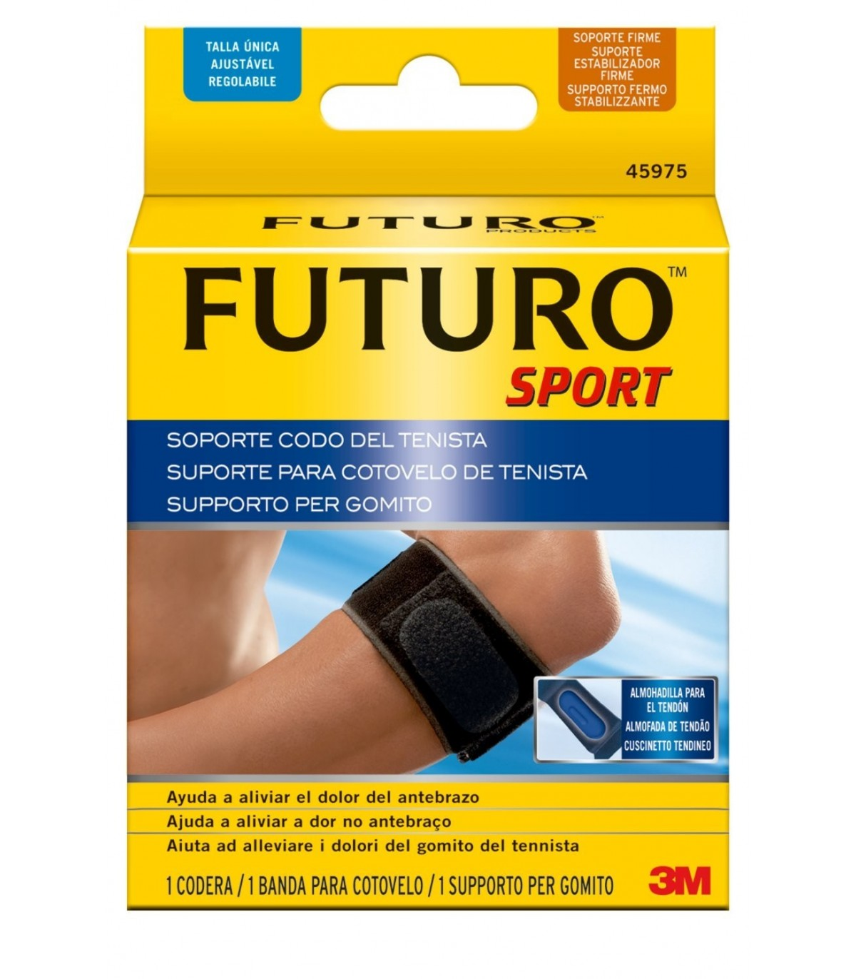3M FUTURO SOPORTE CODO TENISTA