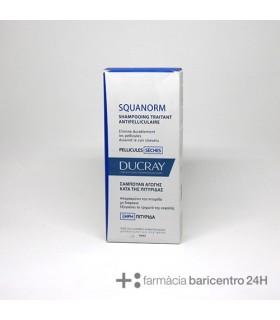 DUCRAY SQUANORM CASPA SECA CHAMPU 200 ML Anticaspa y Higiene Capilar