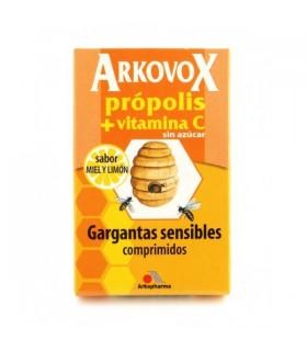 ARKOPHARMA ARKOVOX PROP+VITA C 20CMP MIEL Y LIMO Defensas y Complen Alimentarios y vitamin