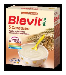 BLEVIT PLUS 5 CEREALES 300 G Papillas y Alimentacion del bebe