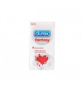 DUREX FANTASY 8 U PRESERVATIVOS Preservativos y Salud Sexual