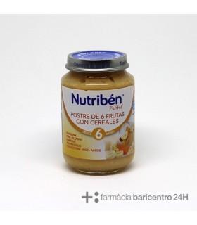 NUTRIBEN POTITO POSTRE 6 FRUTAS CON CEREAL 200G Potitos y Alimentacion del bebe