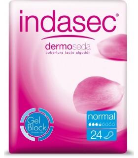 INDASEC LIGERA NORMAL 24 U. Incontinencia y Higiene Intima