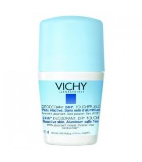 VICHY DESODORANTE BOLA SIN SALES DE ALUMINIO 50 Desodorantes y Higiene Corporal