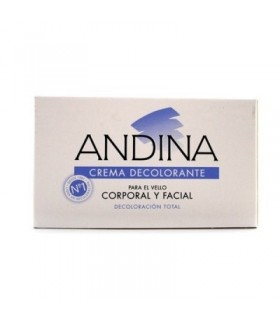 ANDINA CREMA 30 ML Depilacion y Higiene Corporal