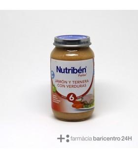 NUTRIBEN POTITO JAMON TERNERA VERDURA 250G Potitos y Alimentacion del bebe