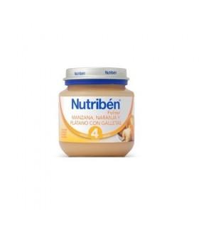 NUTRIBEN POTITO MANZ NARANJA PLATANO GALL 130G Potitos y Alimentacion del bebe