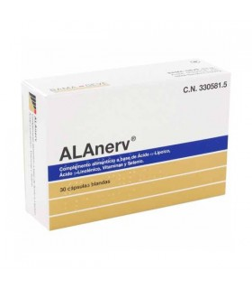 ALANERV 920 MG 30 CAPS Multivitaminicos y Complen Alimentarios y vitamin