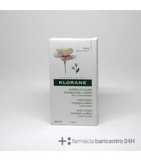 KLORANE EXTRACTO MIRTO CASPA GRASA CHAMPU 200 ML Anticaspa y Higiene Capilar