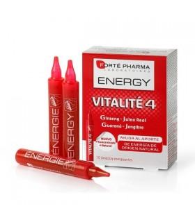 FORTE PHARMA VITALITE 4 ENERGY 10 VIALES Vitalidad y Complen Alimentarios y vitamin
