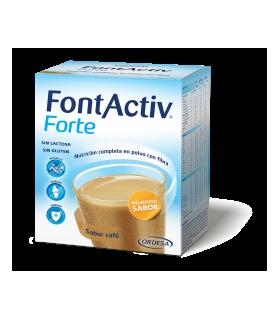 FONTACTIV FORTE 30G 14 SOBRES CAFE Vitalidad y Complen Alimentarios y vitamin