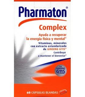PHARMATON COMPLEX CAPSULAS 60 CAPS Vitalidad y Complen Alimentarios y vitamin