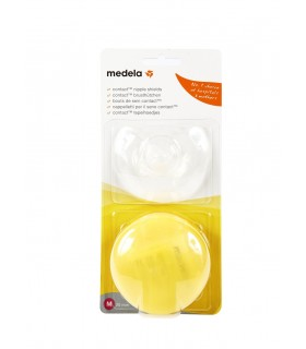 MEDELA PEZONERA CONTACT SILICONA T- M 20 MM 2 U Senos y Embarazo y post parto