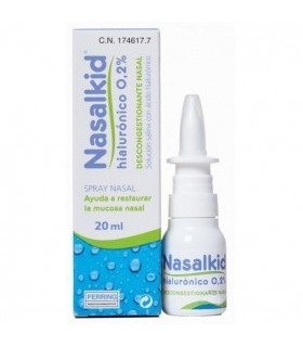 NASALKID NASAL SPRAY HYALURONIC 20 ML Higiene nasal y Cuidado del bebe