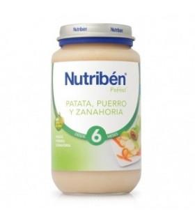 NUTRIBEN POTITO PATATA PUERRO ZANAHORIA 250 G Potitos y Alimentacion del bebe