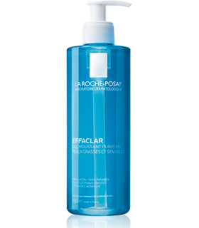 LA ROCHE POSAY EFFACLAR GEL LIMPIADOR 400 ML Gel Limpiador y Limpieza Facial